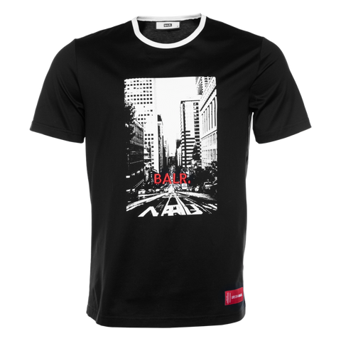 BALR. CITY LIFE T-SHIRT BLACK