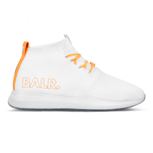 EE Premium Sock Sneakers V2 White/Orange