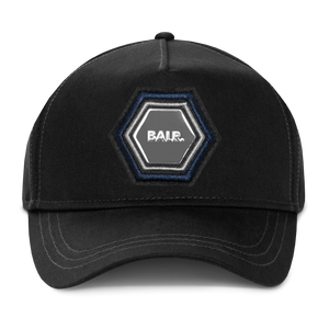 Q-Series Metal Hexagon Badge Cap Black