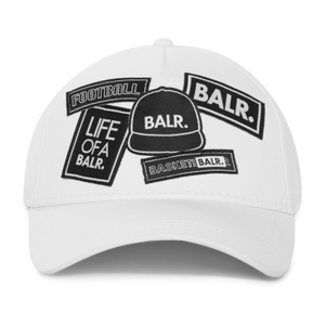 BALR. Badge Cap White