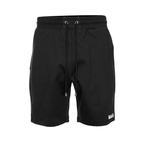 Repeat Zip Sweat Shorts Black