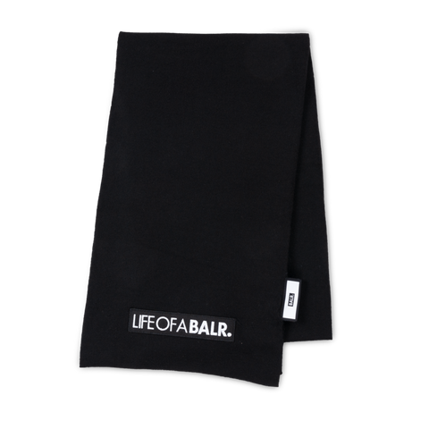 LIFEOFABALR. Scarf Black