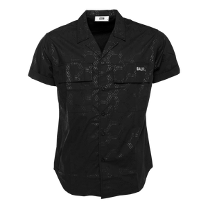 LOAB Hexagon Short Sleeve Shirt