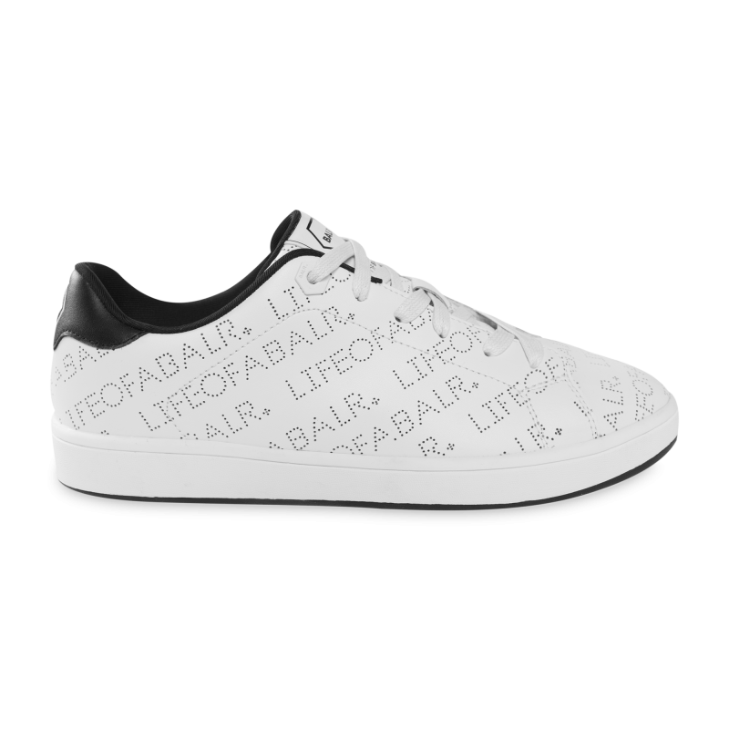 LOAB Perforated Leather Sneakers White
