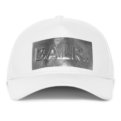 SILVER CLUB CAP WHITE