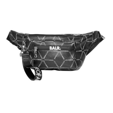 LOAB ALL-OVER PRINT WAIST PACK BLACK