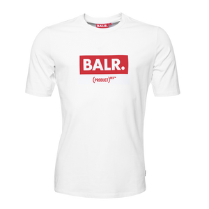 (BALR.)RED Club T-shirt White