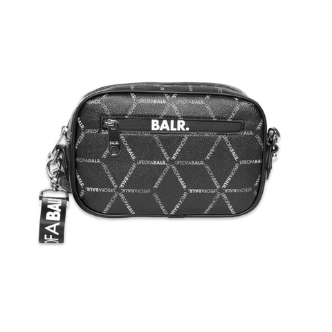 LOAB ALL-OVER PRINT TOILETRY KIT BLACK