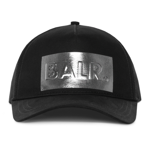 SILVER CLUB CAP BLACK