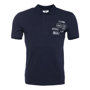 BALR. Badge Polo Shirt Navy