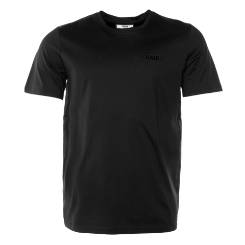 BALR. TAPE STRAIGHT T-SHIRT BLACK