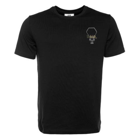BALR. HEXAGON DOLL STRAIGHT T-SHIRT BLACK