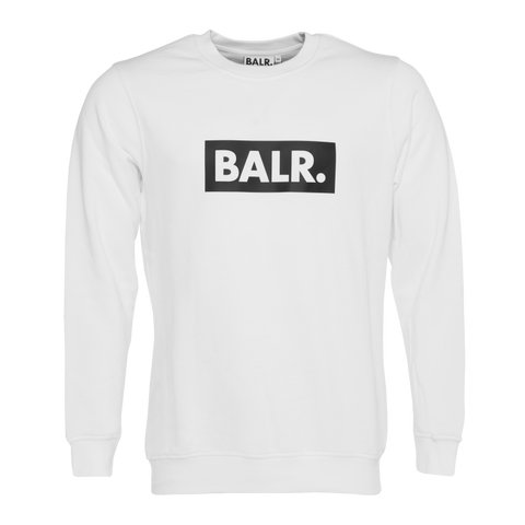 Club Crew Neck Sweater White