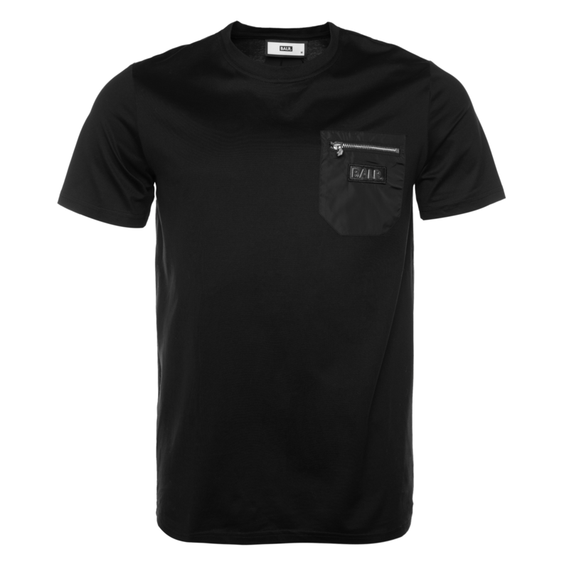 BALR. CARGO STRAIGHT T-SHIRT BLACK