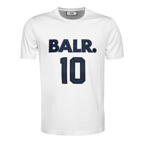 Black Label - BALR. 10 T-Shirt White