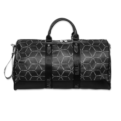 LOAB ALL-OVER PRINT DUFFLE BAG BLACK