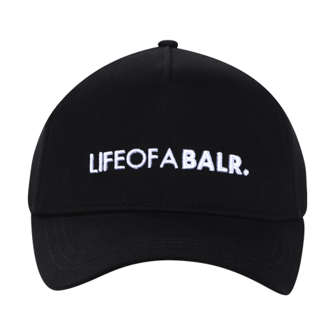 LIFEOFABALR. Cap Black