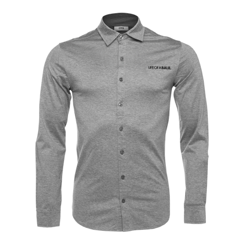 LOAB Formal Shirt Grey