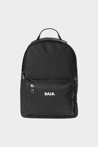 BALR. Gradient Water Resistant Backpack Black