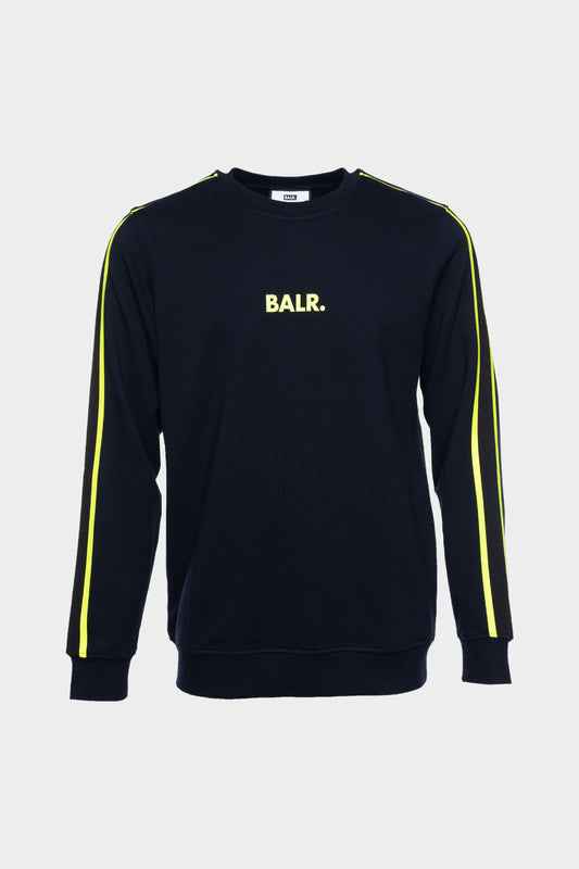 BALR. Taped Straight Crew Neck Dk Navy