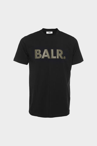 BALR. Straight Brand T-shirt Men Black