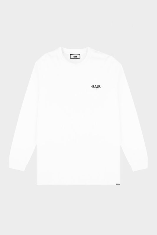Minimalistic Stone Straight T-Shirt L/S Light Stone