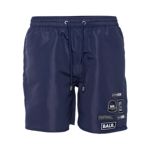 BALR. Badge Swim Shorts Navy