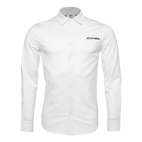 LOAB Formal Shirt White