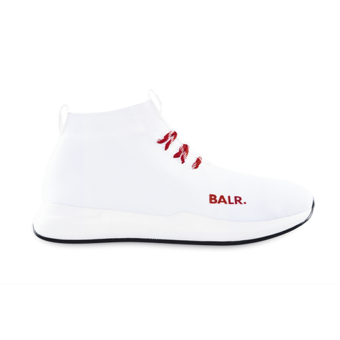(BALR.)RED EE Premium Sock Sneakers V2 White