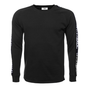 LIFEOFABALR. Tape Crew Neck Sweater Black