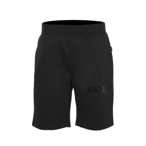 Black on Black Panel Shorts
