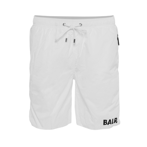 Mid-length Swim Shorts White