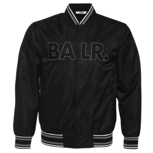 Embroidered Logo Bomber Jacket