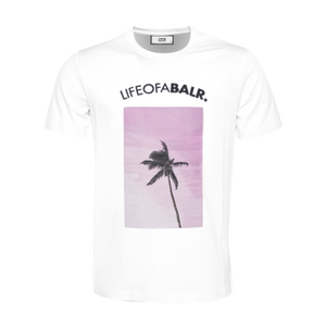 Black Label - Palm Tree T-Shirt White