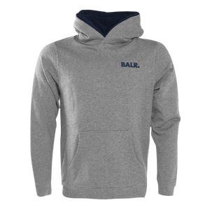 Embroidered LOAB Hoodie Grey