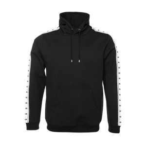 Repeat Tape Hoodie Black