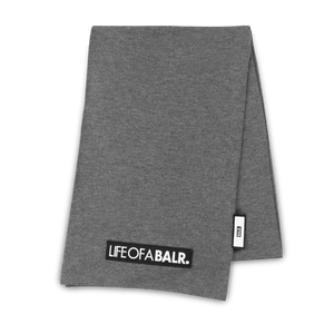 LIFEOFABALR. Scarf Grey
