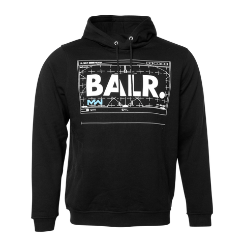 BALR. X CALL OF DUTY: MODERN WARFARE HOODIE BLACK
