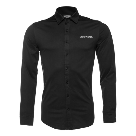 LOAB Formal Shirt Black