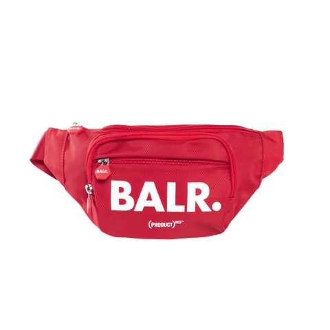 (BALR.)RED U-series Waist Pack Red