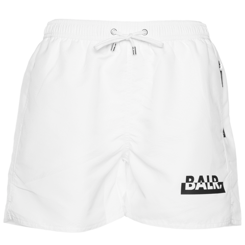 BRAND CLUB SWIM SHORTS WHITE