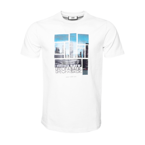 Black Label - LIFEOFABALR. NYC T-Shirt White