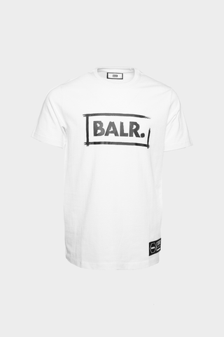 Chalk Straight T-Shirt White