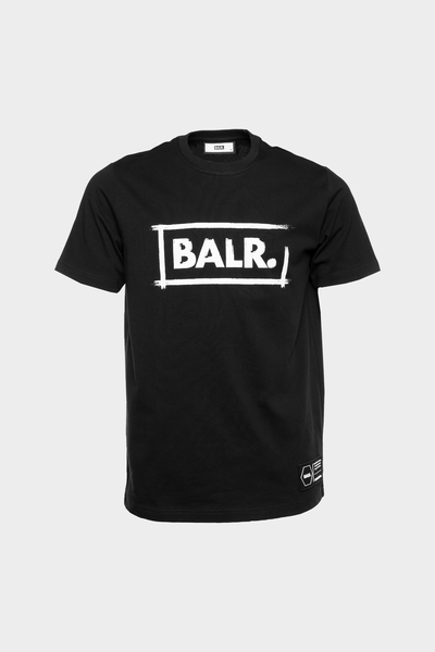 Chalk Straight T-Shirt Black