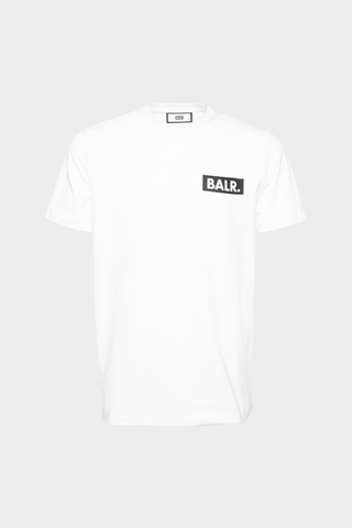 BALR. Cube Straight T-Shirt White