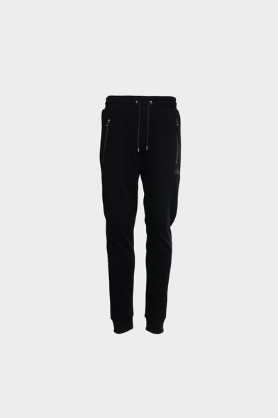 Q-Series Classic Knitted Sweatpants Black