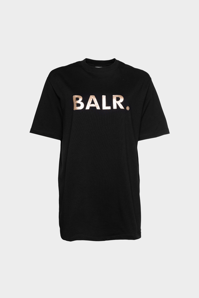 BALR. Sequins Loose T-Shirt Women Black