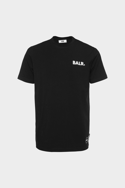 BALR. Love And Hate Straight T-Shirt Black