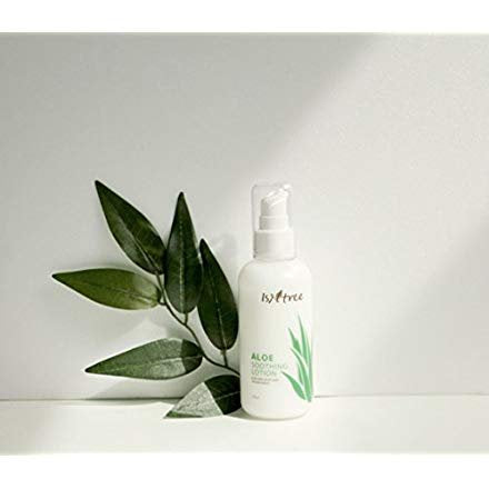 Aloe Vera Soothing Facial Lotion for Dry and Sensitive Skin