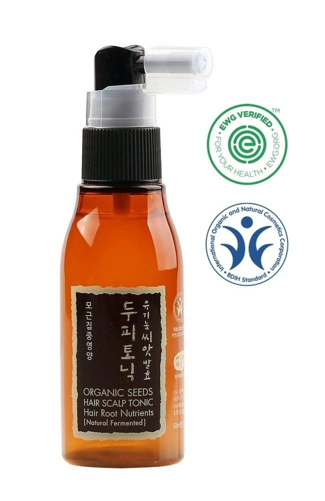 Organic Seeds Hair Scalp Tonic for Hair Root Nutrients
